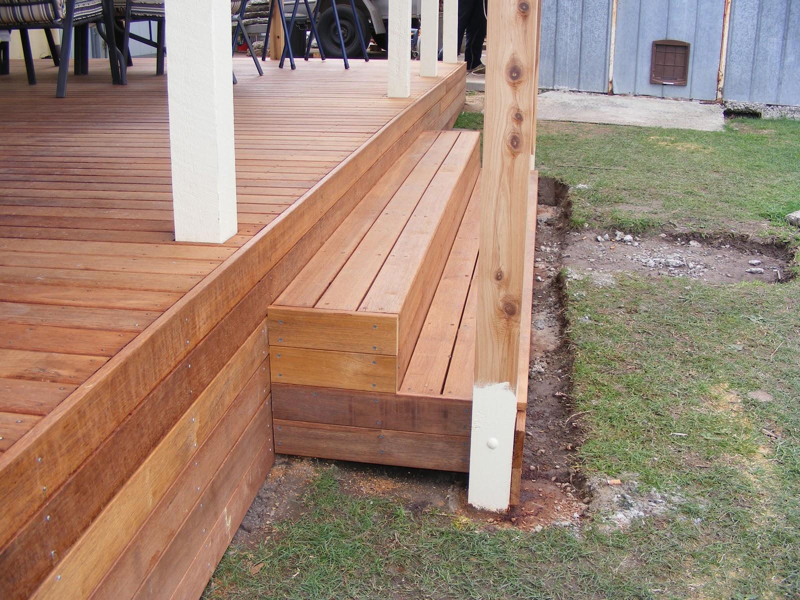 Waynes Home Renos Diy Building Deck Part 3 Stairs   Making Steps For Decking