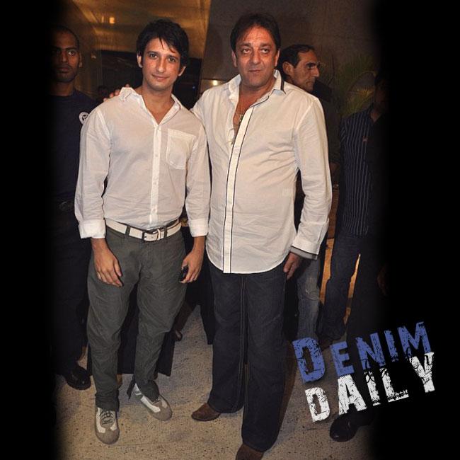 Denim Daily: Sanjay Dutt Seen In True Religion Brand Jeans