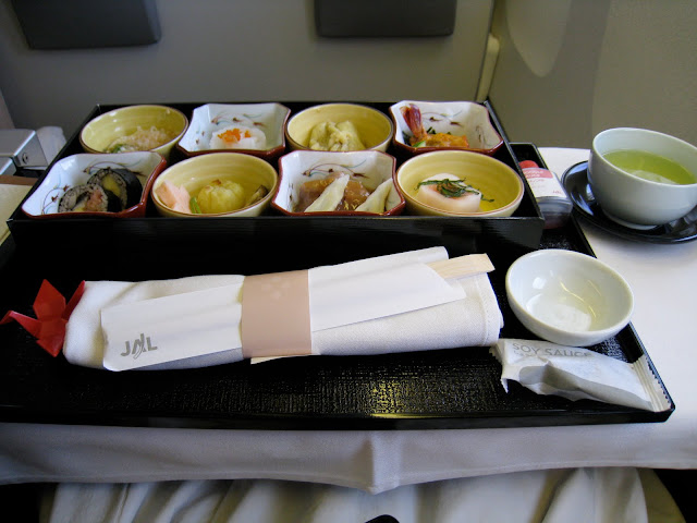 Trip report: Japan Airlines Business Class Japanese meal - Kobachi on JL061