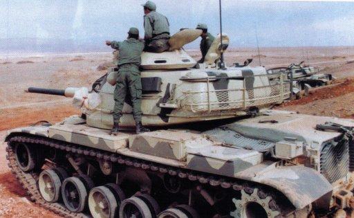 دبابات القتال الرئيسية في الجيش المغربي