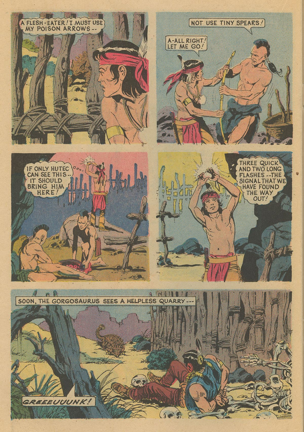 Read online Turok, Son of Stone comic -  Issue #86 - 22