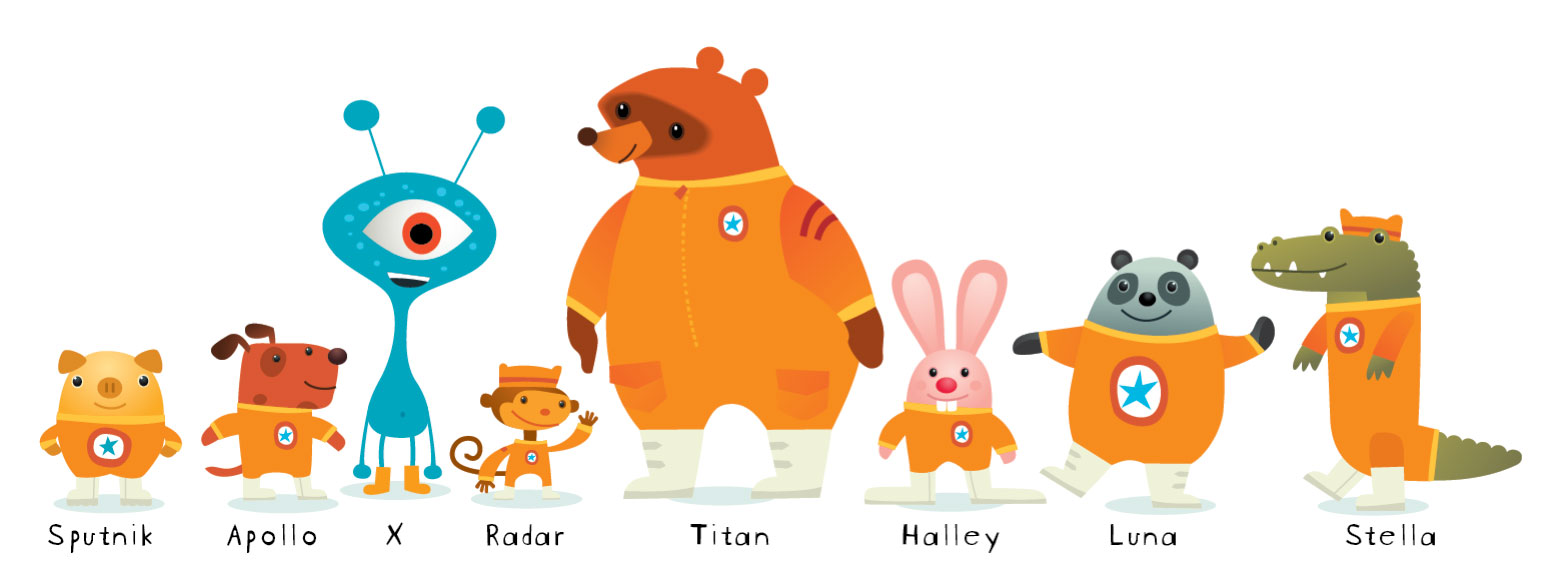 whoop dee do: Here's the Astroblast crew