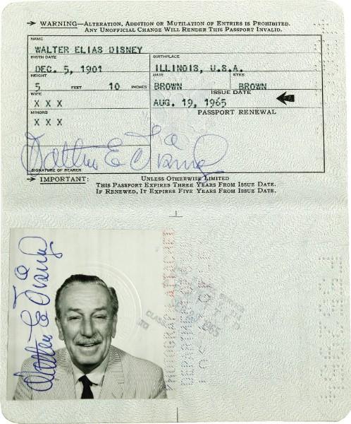 passaport walt disney
