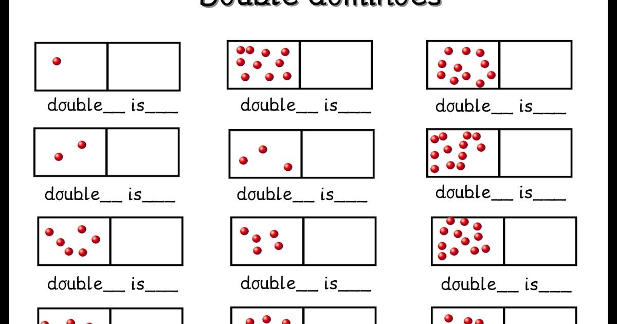 Debbie's Resource Cupboard: Domino doubles