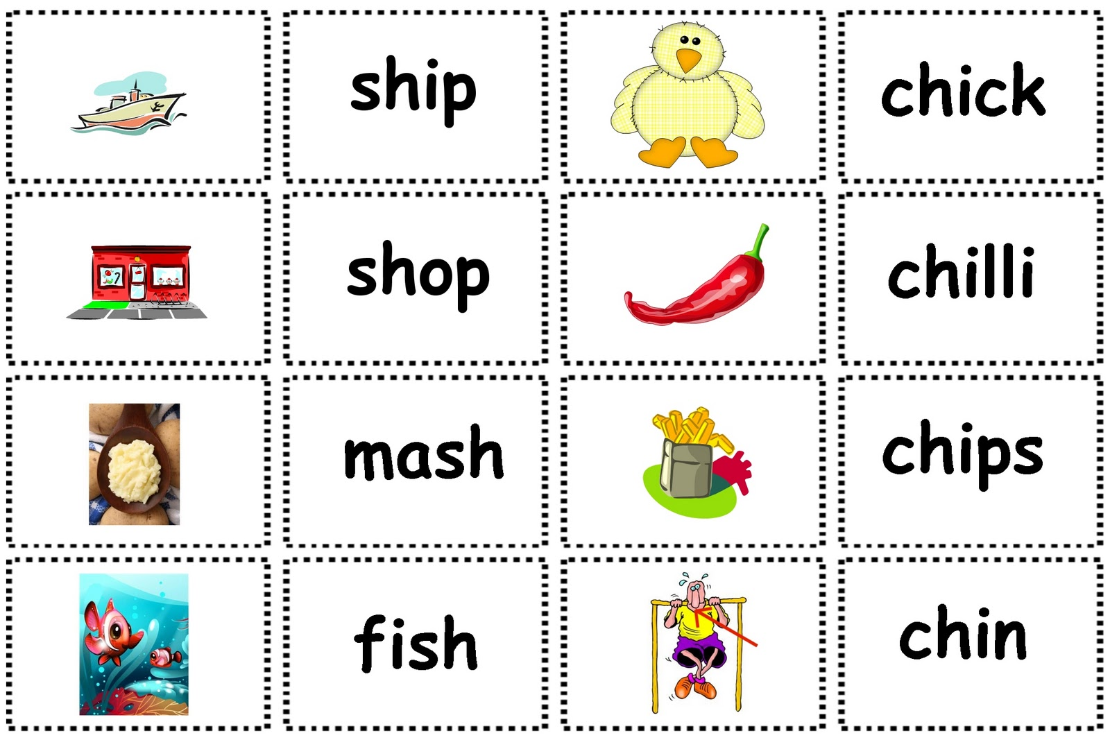 Debbie S Resource Cupboard Letters And Sounds Phase 3 Matching Pairs Game