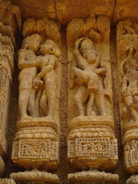 sex erotic art carving konark sun temple hand job