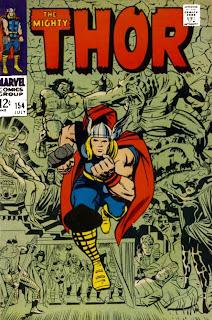 thor 154 marvel