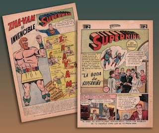 contenido de Superman Novaro Nº654 de 1968