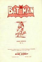 Batman Album Especial Nº5 Acme Agency