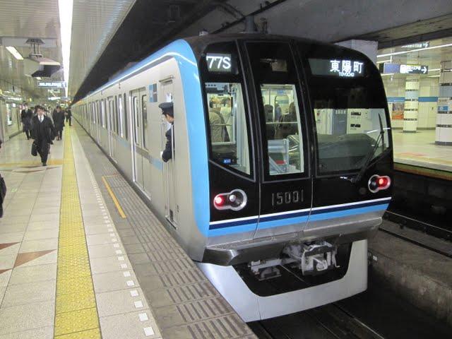 東京メトロ東西線 東陽町行き5 15000系