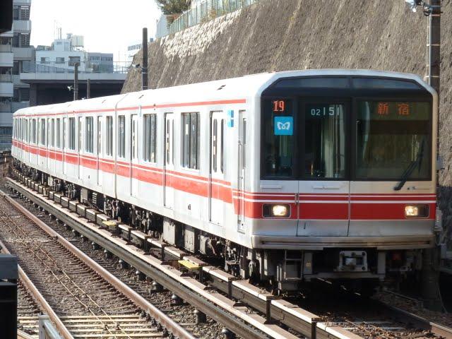 東京メトロ丸ノ内線 新宿行き2 02系LED