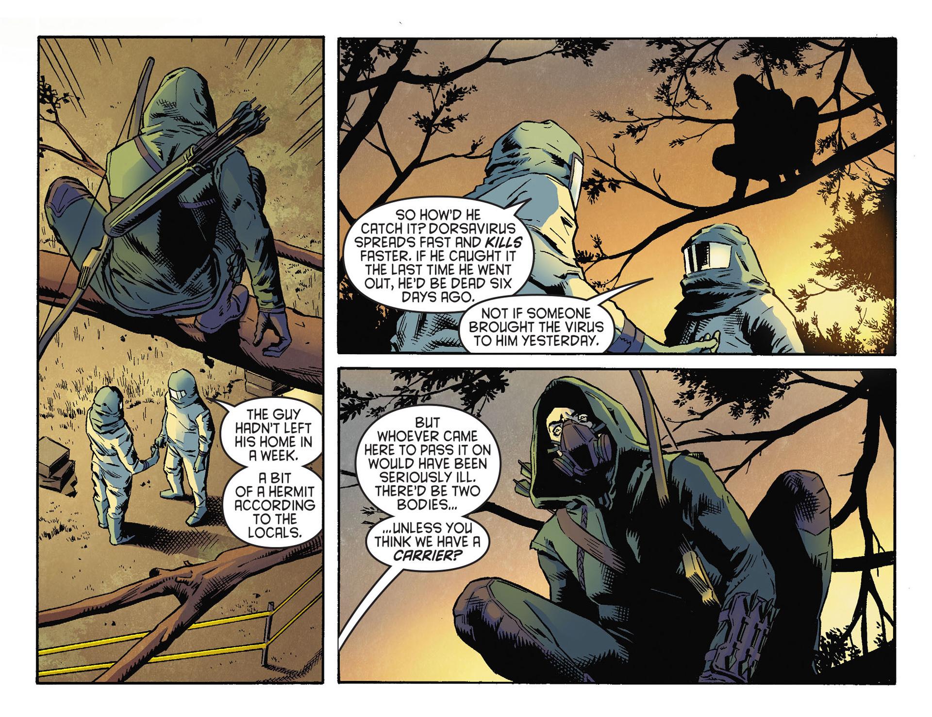 Read online Arrow [II] comic -  Issue #30 - 8
