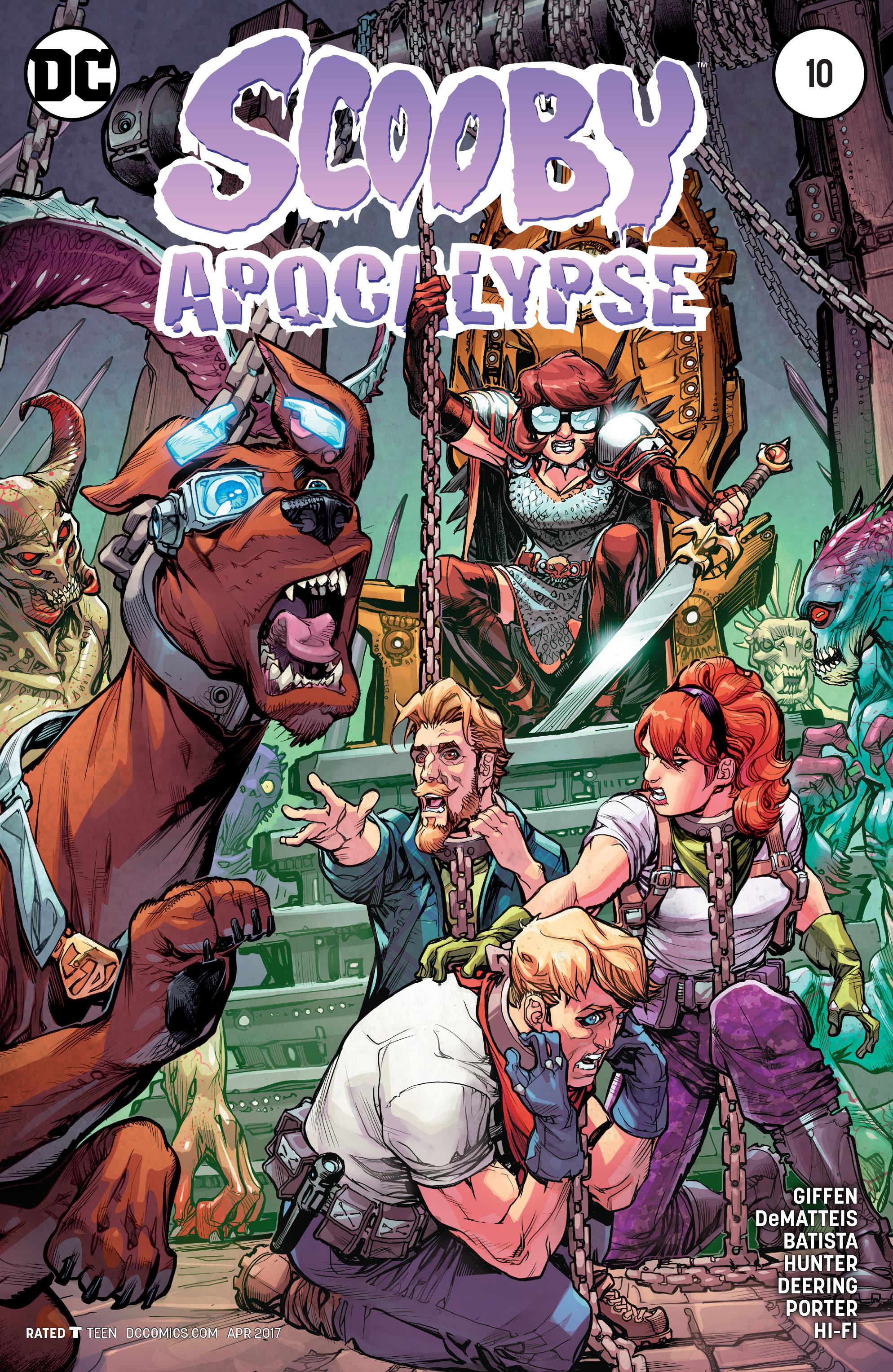 Read online Scooby Apocalypse comic -  Issue #10 - 1