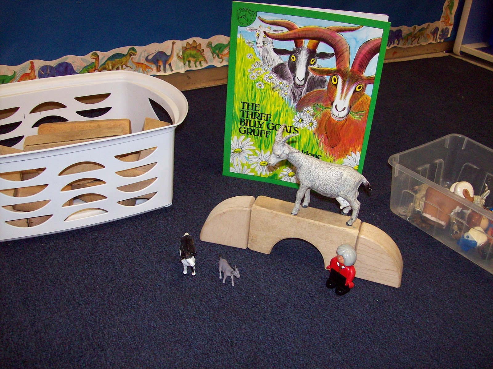 Learning And Teaching With Preschoolers Three Billy Goats