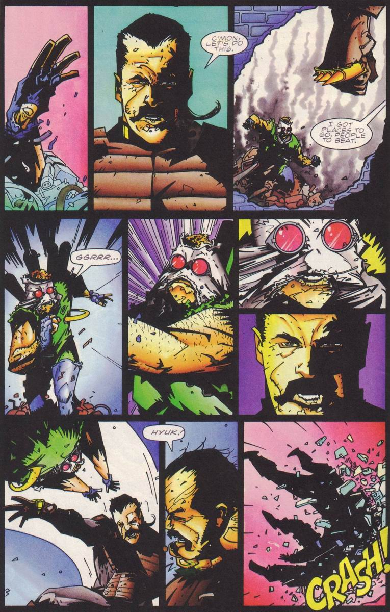 Read online Secret Weapons comic -  Issue #18 - 6