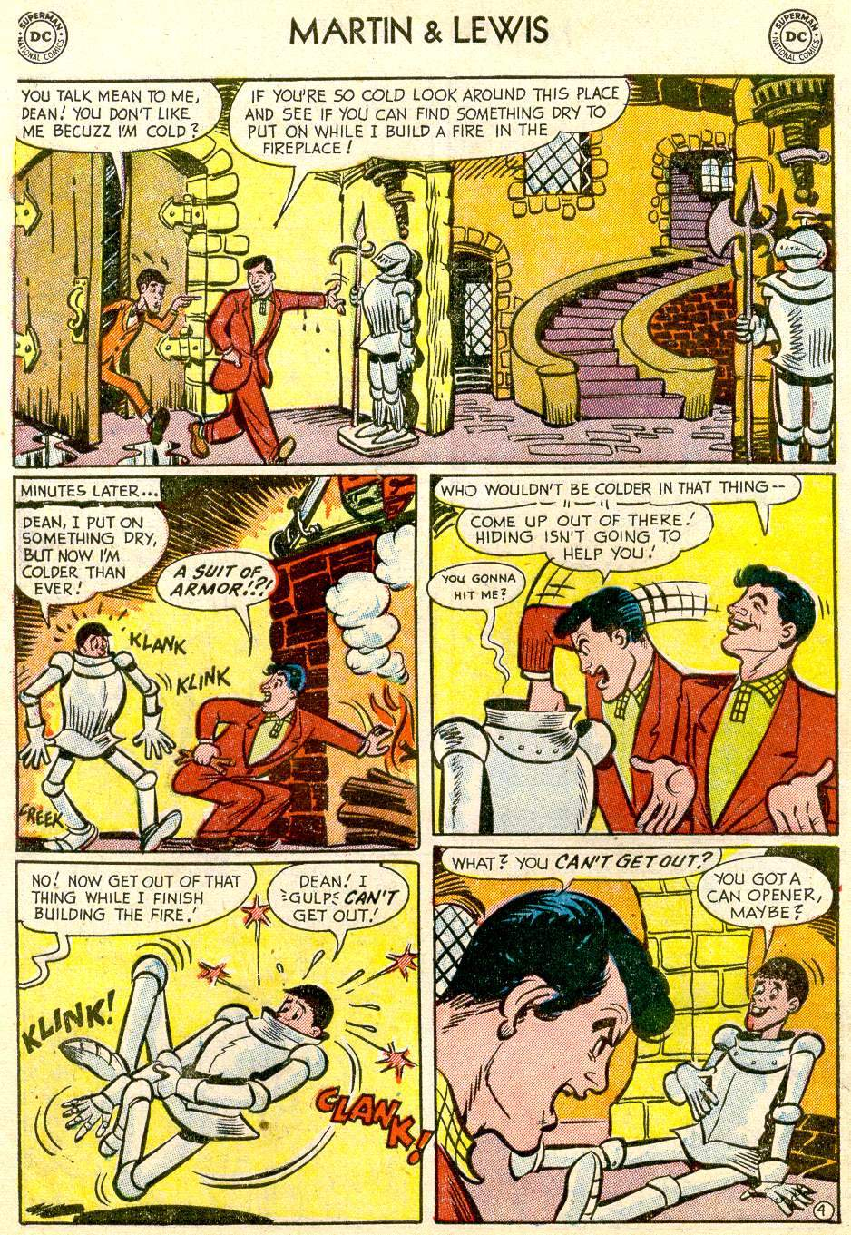 Comic The Adventures of Dean Martin and Jerry Lewis issue 2