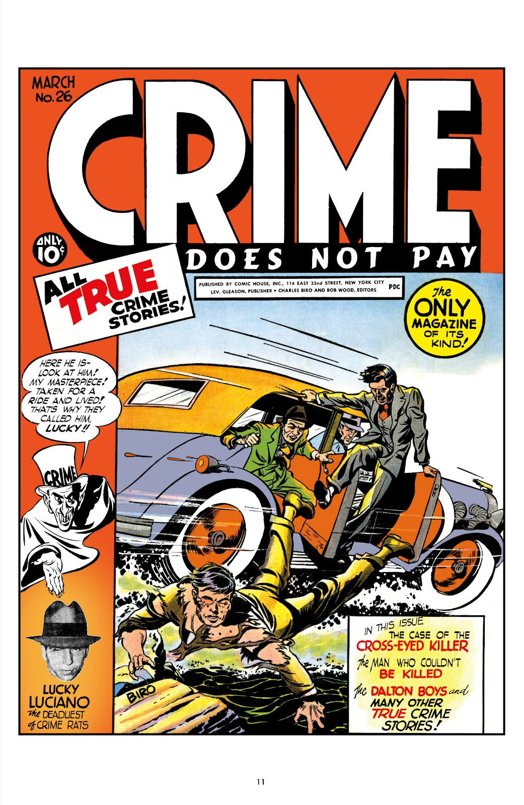 Read online Crime Does Not Pay Archives comic -  Issue # TPB 2 (Part 1) - 11