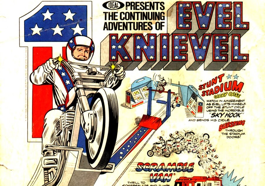 Vintage Evel Knievel In His: Yesterville Toy Room: Vintage Ads: Evel Knievel Assortment