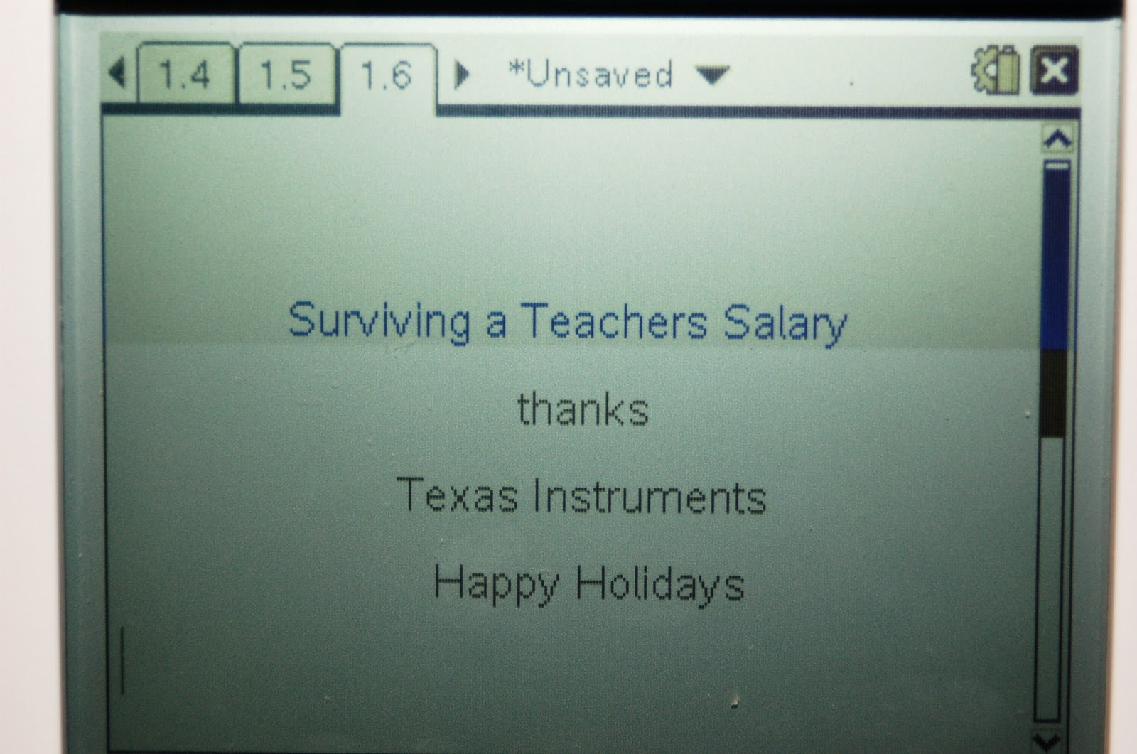 Texas Instruments TI-Nspire with Touchpad Calculator Review