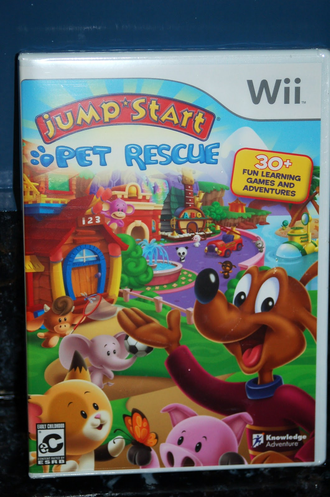 Jumpstart Pet Rescue Wii Game Review