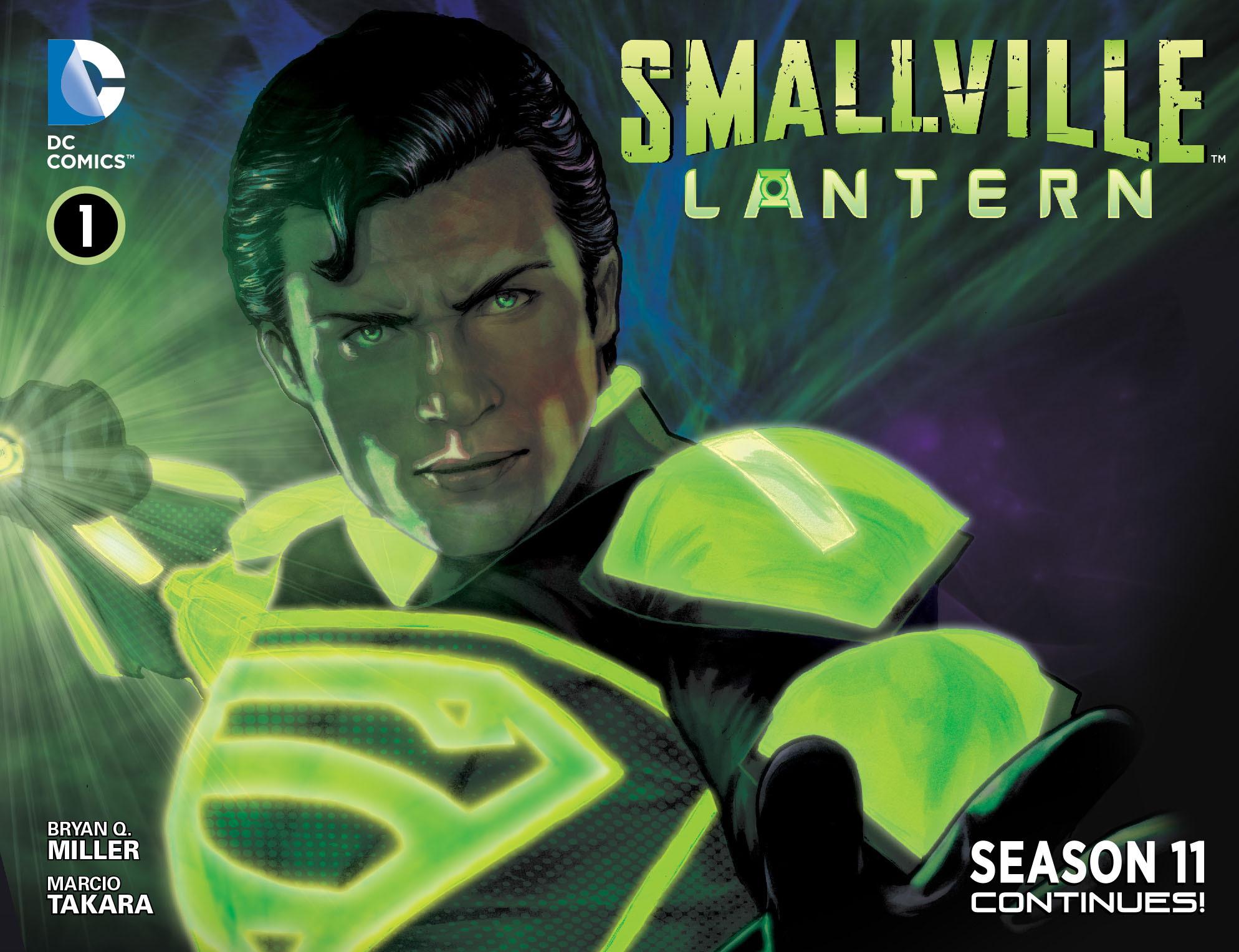 Read online Smallville: Lantern [I] comic -  Issue #1 - 1