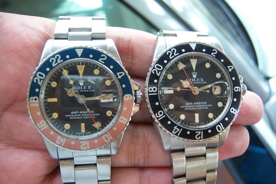 Rolex GMT akuisisi terakhir ini membuat komplit GMT Master saya karena  sebelumnya saya sudah memiliki GMT Master dengan tahun produksi yang lebih  muda yaitu ... adc6d862a5