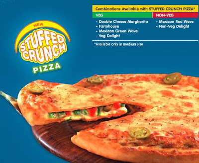 Domino's Stuffed Cruch Pizza