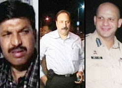 We salute you-Vijay Salaskar, Hemant Karkare and Ashok Kamte who died fighting terror