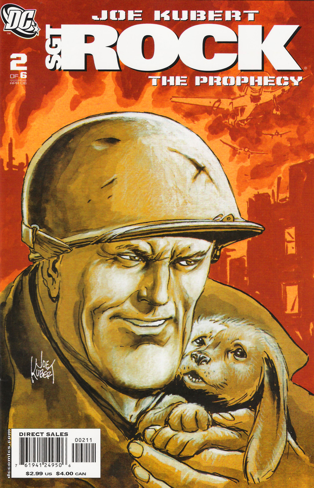 Read online Sgt. Rock: The Prophecy comic -  Issue #2 - 1