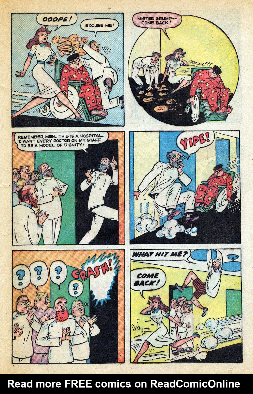 Read online Nellie The Nurse (1945) comic -  Issue #20 - 33