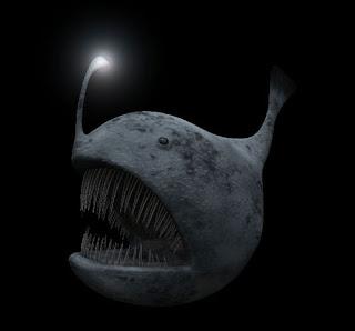Resultado de imagen de pez linterna