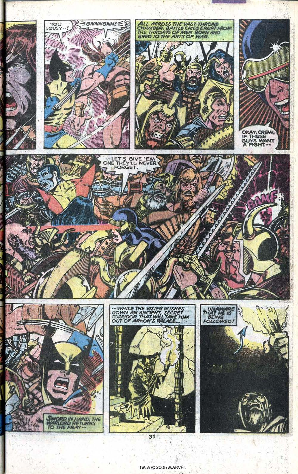 Read online Uncanny X-Men (1963) comic -  Issue # _Annual 3 - 33