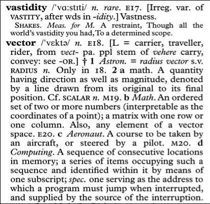 Dictionary Design