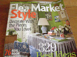 Amy's Vintage cottage featured in the 2009summer issue of Flea Market Style