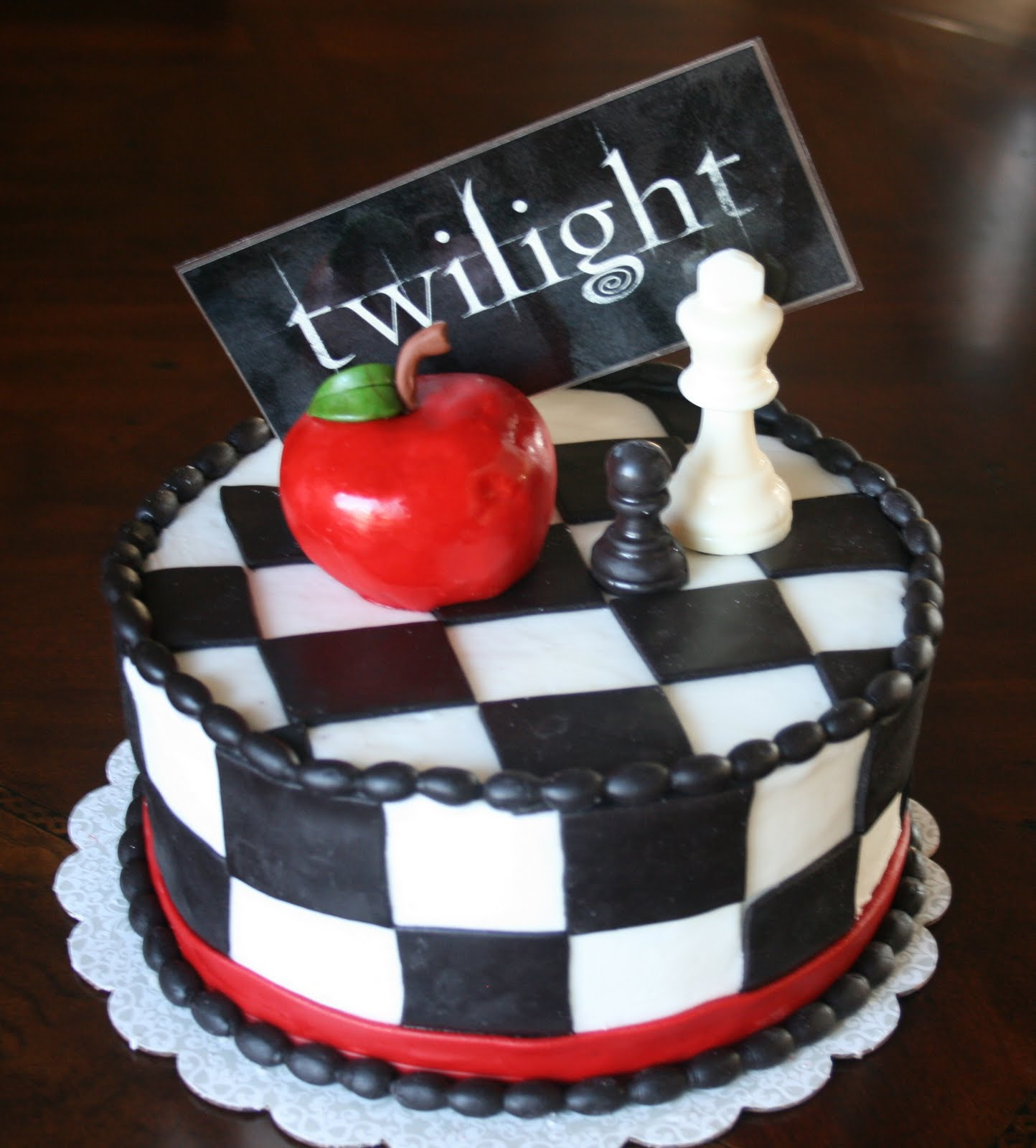 And Everything Sweet Twilight Cake