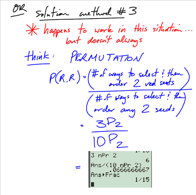 Permutation combination and probability problems with
