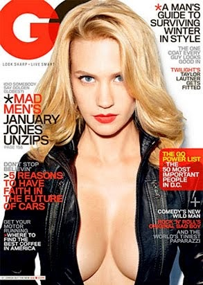 Music, Gossip, & More: January Jones' GQ Magazine Cover