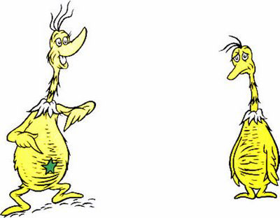 Hackman's Musings: Big Tent Christianity and The Sneetches