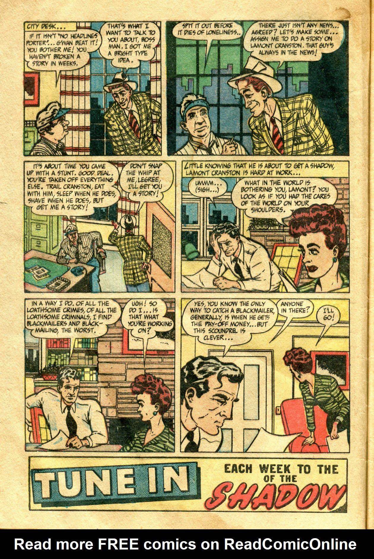Read online Shadow Comics comic -  Issue #99 - 6