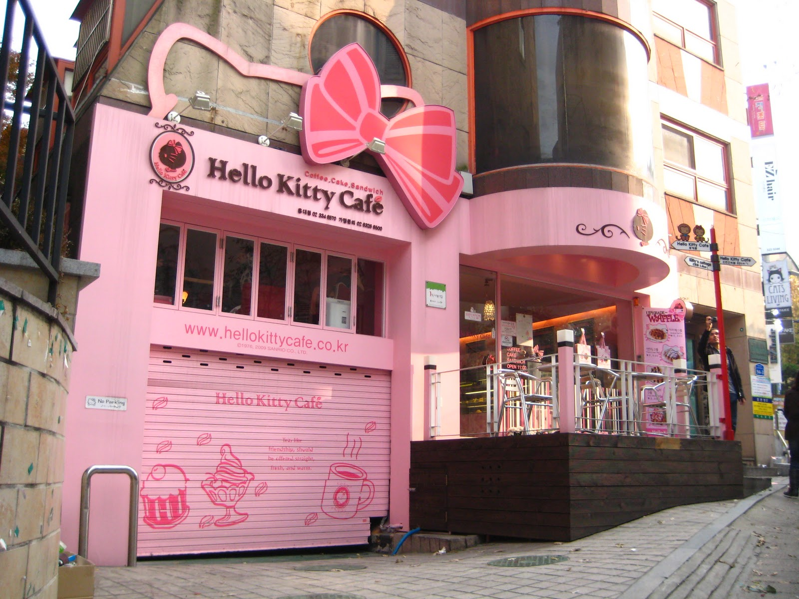 Buy Here Pay Here Lots >> Kate's In Korea!: Hongdae: Art, Coffee, and Cats