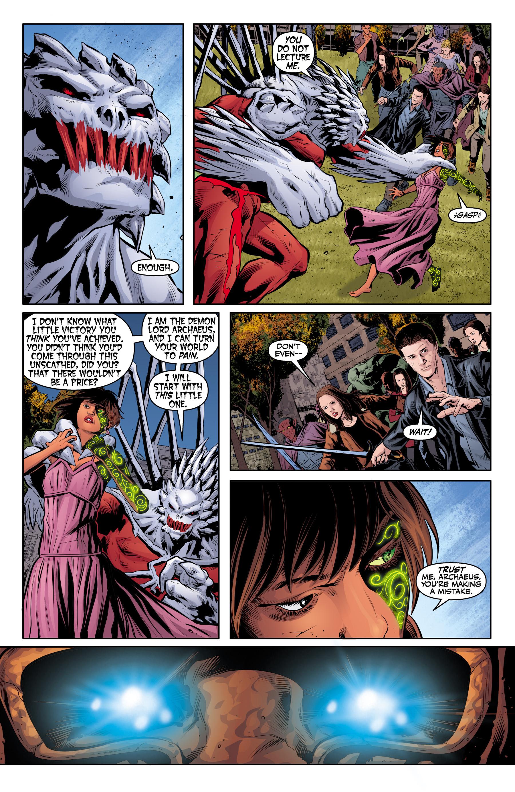 Read online Angel & Faith Season 10 comic -  Issue #25 - 12