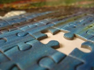 puzzle - Udar prawej półkuli mózgu