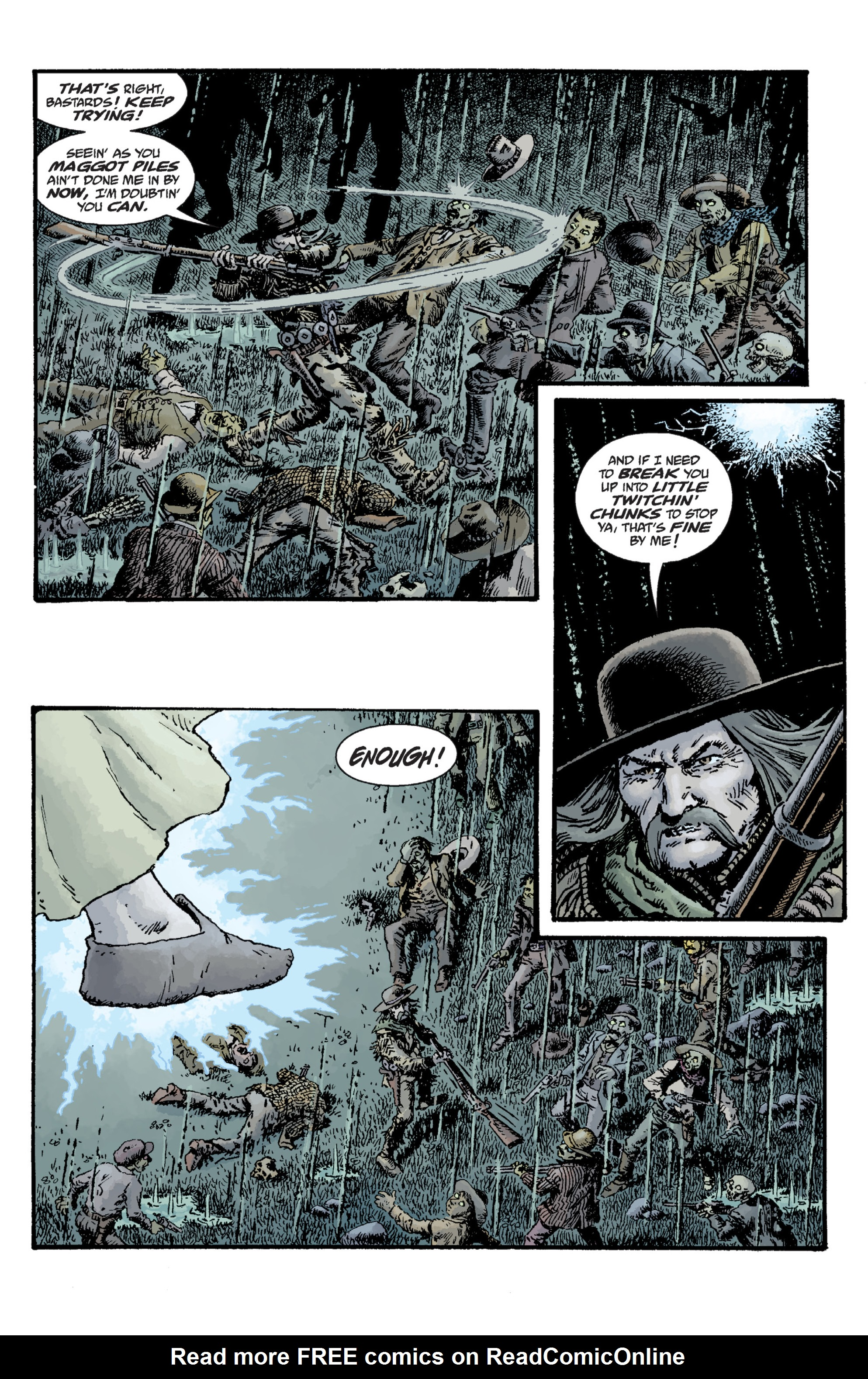 Read online Sir Edward Grey, Witchfinder: Lost and Gone Forever comic -  Issue # TPB - 112