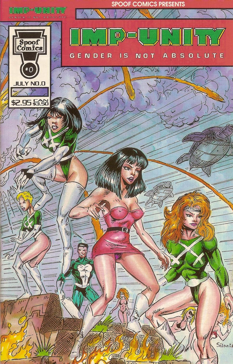 Spoof Comics 0 Page 1