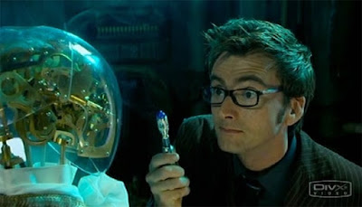 David Tennat Doctor Who The Girl in the Fireplace screencaps images photos pictures screengrabs captures NBC pilot series