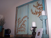 art for free reclaimed window http://bec4-beyondthepicketfence.blogspot.com/2010/08/art-for-freeeee.html