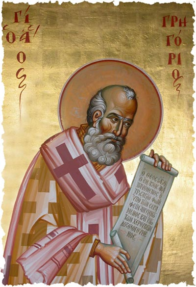 Orthodoxy In Nwa St Gregory The Theologian Patriarch Of