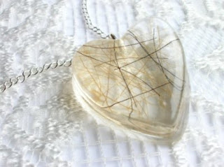 equine horse hair necklace