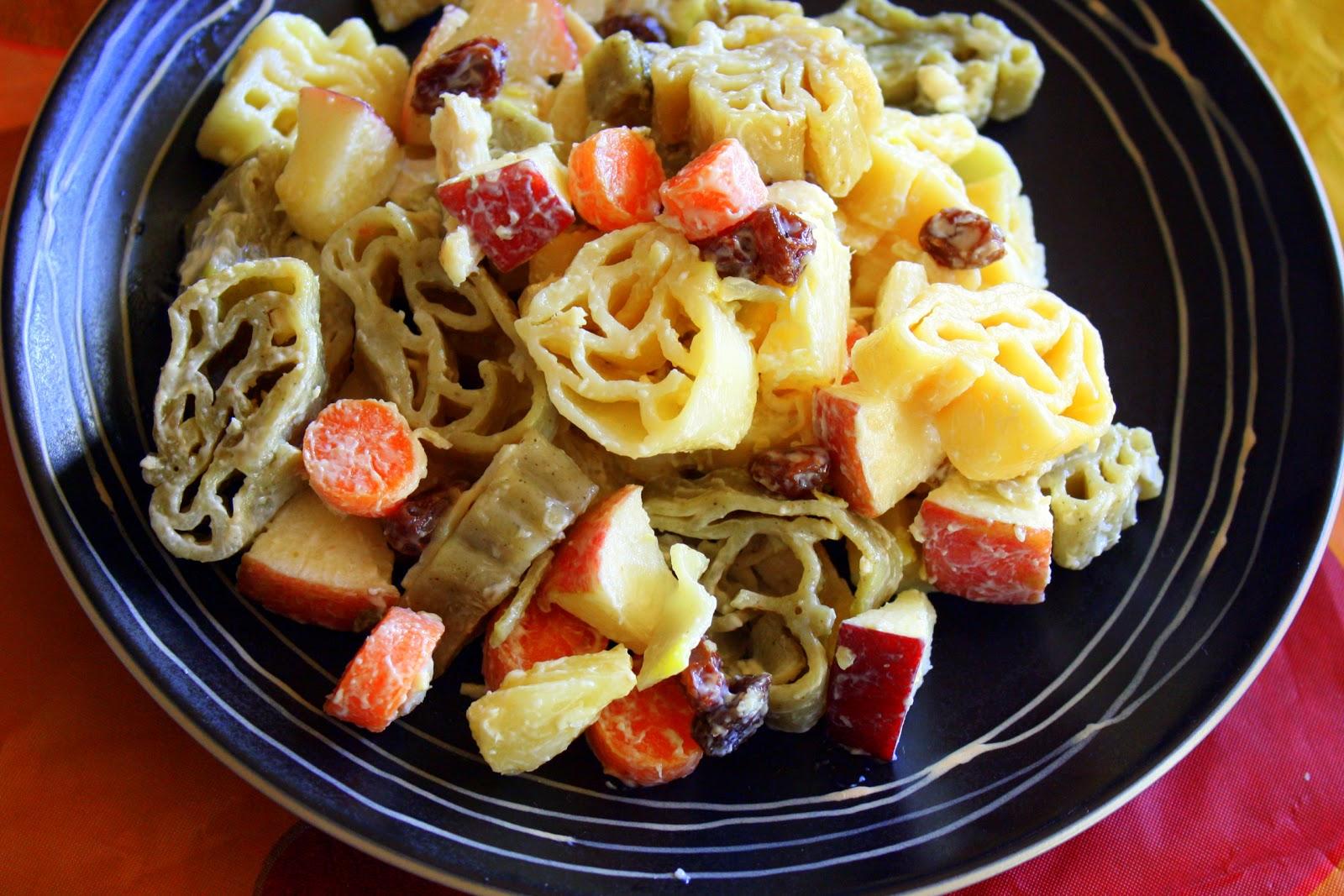 Fruity Chicken Pasta Salad (aka Pinoy macaroni salad)
