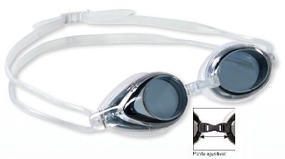 07b6e4522 Nomeadamente um óculo de natação combinado que se destaca por ter  policarbonato resistente ao choque, uma camada anti-embaciamento, 100%  protecção UV, ...